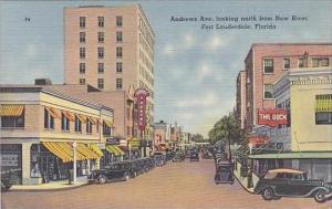 Florida Ft Lauderdale Andrews Avenue Looking North
