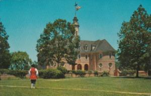 Virginia Williamsburg Colonial Capitol Building