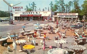 Amoco Gas Station Amusement Brown's #1 Gifts Rocky Mountain North Carolina 4343