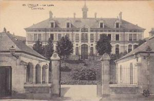 Le Lycee, Entrance, Tulle (Corrèze), France, 1900-1910s