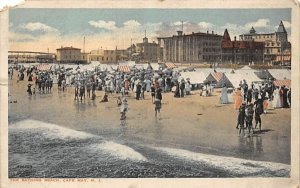 The Bathing Beach in Cape May, New Jersey