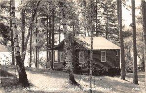 H37/ Park Rapids Minnesota RPPC Postcard 1941 Hamilton Lodge Cottage