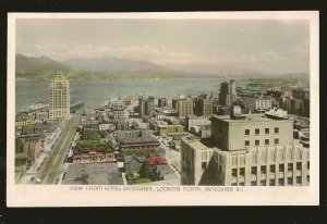 View From Hotel Vancouver Looking North Gowen Sutton Color Postcard Unposted