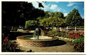 New Hampshire Portsmouth Josie F Prescott Memorial Garden Fountain