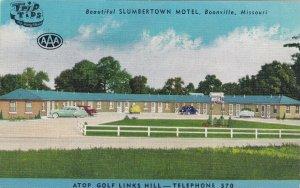BOONVILLE , Missouri , 30-40s ; Slumbertown Motel