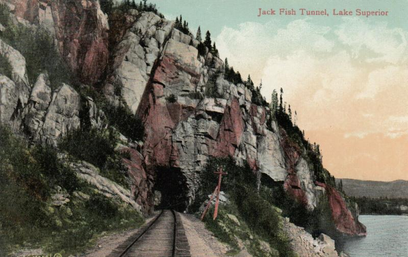 JACK FISH , Lake Superior , Ontario , Canada , 1900-10s ; Tunnel