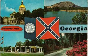 GREETINGS FROM GEORGIA FOUR VIEWS