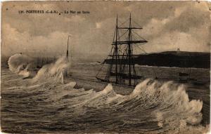 CPA  Portrieux - La Mer en furie  (381885)