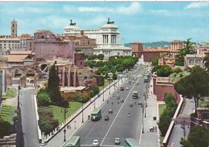 Italy Roma Rome Via dei Fori Imperiali