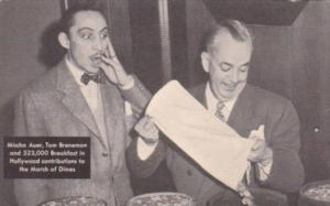Tom Brennan and Mischa Auer Brennan's Breakfast In Hollywood