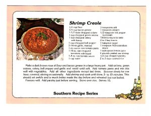 Shrimp Creole, Southern Recipe Series