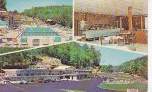 Interior & Exterior, Pool Side, Holiday Motor Lodge & Restaurant, Parkers Lak...