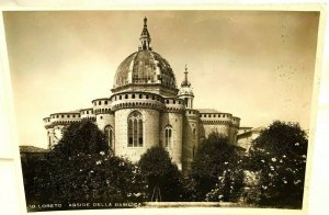 Vintage Postcard Abside Della Basilica Loreto Italy