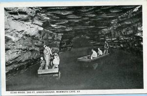 KY - Mammoth Cave, Echo River, 360 Feet Underground