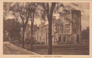 New Jersey Princeton Patton Hall Princeton Univers Albertype