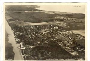RP; Aerial View, Seebad Neuhauser i. Ostpr. vom Flugzeug, Denmark, PU