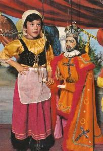 Sicilian Sicily Italian Costume Folklore Photo Postcard