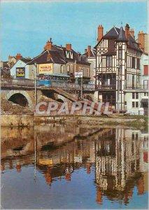 Modern Postcard Vierzon (Cher) The banks of the Yevre Furniture Veillat