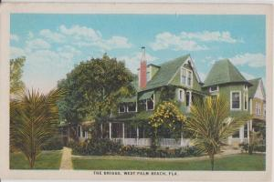 WEST PALM BEACH FL - THE BRIGGS HOTEL / GUEST HOUSE 1920s era view DEMOLISHED