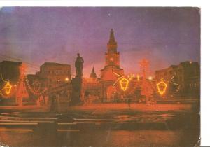 Postal 036783 : Cartagena - Colombia. Iluminacion Navide?. Puerta del Reloj