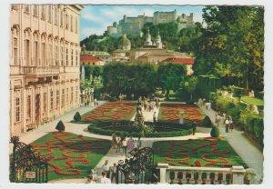 Vintage Postcard Austria Salzburg Mirabellgarten 1968