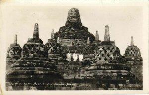 CPA AK INDONESIA - Hindu Temple - Boroboedoer - Boro Budur temple Java (341029)