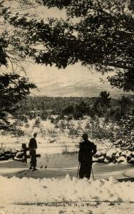 NH - Mt Monadnock  in Winter