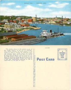 Harbor View, Dubuque Iowa, IA, Linen