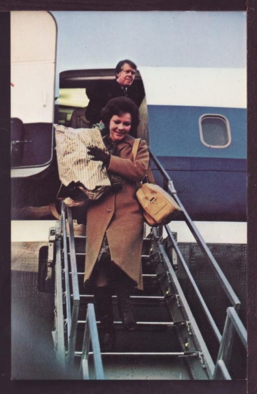 Rosalynn and Jimmy Carter Postcard 3404