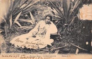 Madagascar Antananarivo Tananarive Femme Hova, Native Woman 1909