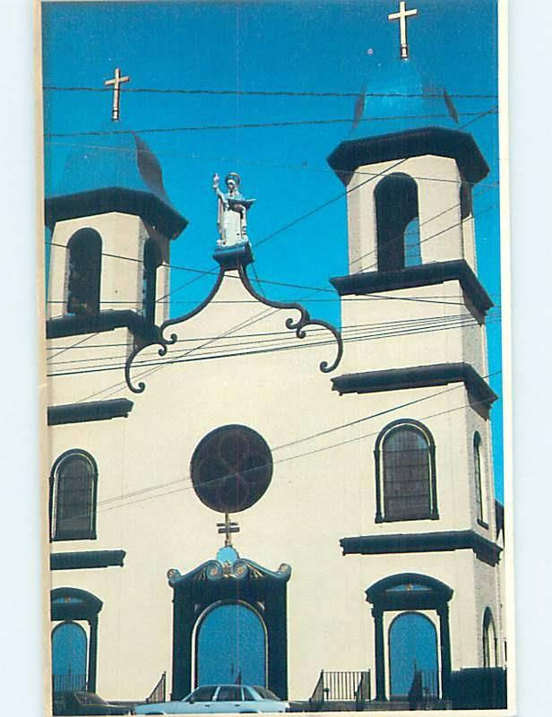 Unused Pre-1980 CHURCH SCENE Gloucester - Near Boston Massachusetts MA G3553