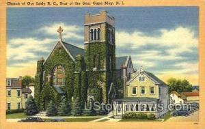 Church Of Our Lady Rc  Cape May NJ Unused