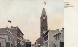 BELLEVILLE , Ontario, Canada, 1909 ; Front Street