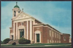 St Mary's Star of the Sea,Narragansett,RI Postcard