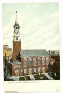 Christ Luthern Church, York, Pennsylvania, 1900-1910s
