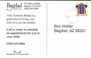 US Post Card #4594  Paradise Strips  Dental Ad