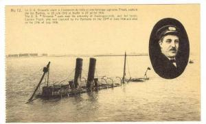 Zeebrugge , Belgium, 1918  Ruines de Zeebrugge, S.S.  BRUSSELS  & Captain