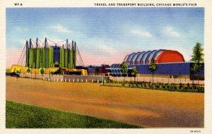 IL - Chicago. 1933 World's Fair, Century of Progress. Travel and Transport Bu...