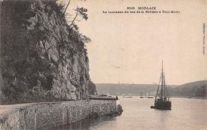 France Morlaix Le tournant du bas de la Riviere a Toul Maho