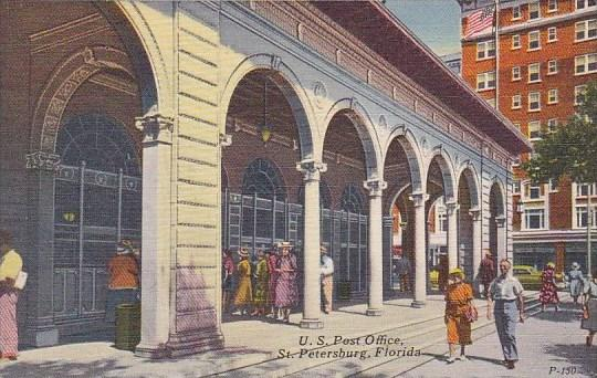 Florida Saint Petersburg U S Post Office