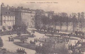 France Brest Le Square de la Place du Chateau