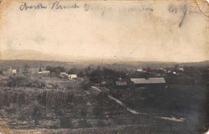 Antrim New Hampshire Birdseye View Scenic Real Photo Antique Postcard K22497
