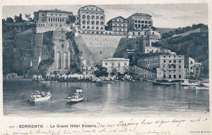 SORRENTO, Campania, Italy, 1900-1910's; Le Grand hotel Victoria