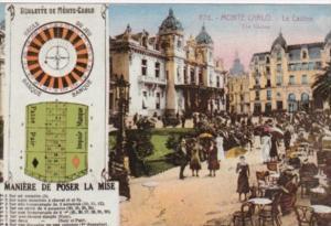 Monte Carlo Monaco Le Casino Roulette de Monte Carlo