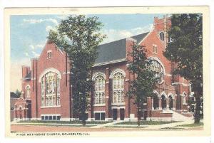 First Methodist Church, Galesburg, Illinois, 1910-1920s