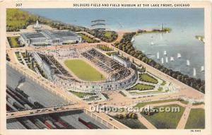 Soldiers Field & Field Museum Lake Front, Chicago, Illinois, IL, USA 1932