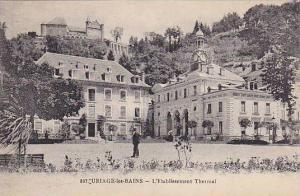 URIAGE-les-BAINS, L'Etablissement Thermal, Isere, France, 10-20s