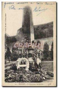 Old Postcard Belfort Monument Of Mobile