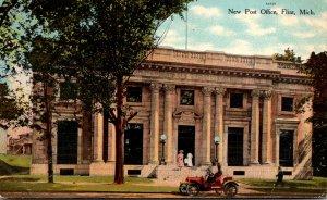 Michigan Flint New Post Office Curteich