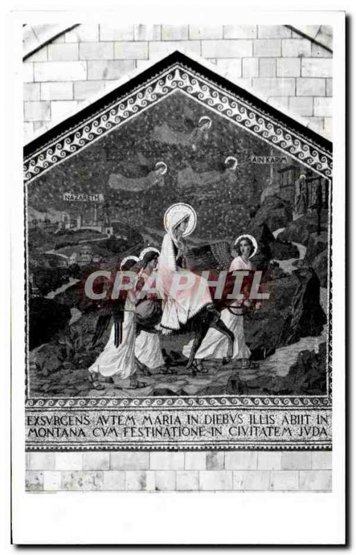 Postcard Modern Judah Ane Religion Nazareth Ain Karim